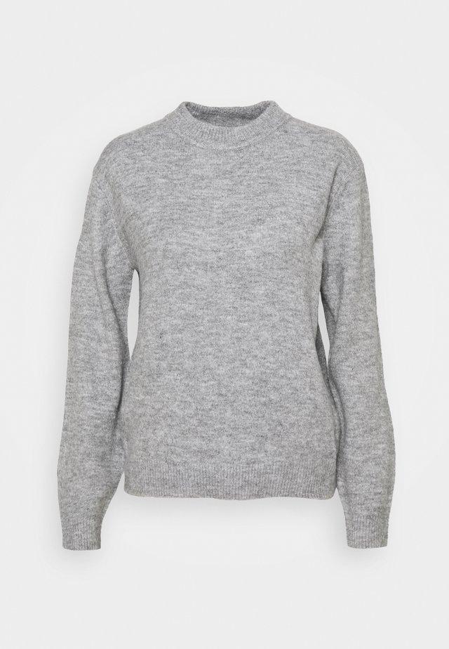 PCFLORAN - Trui - light grey
