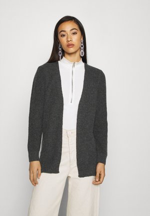 ONLPARIS LIFE - Cardigan - dark grey melange