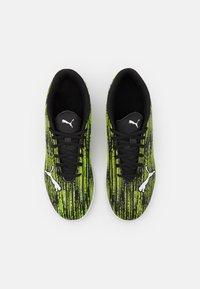 Puma - ULTRA 4.2 IT - Indoor football boots - black/white/yellow alert - 3