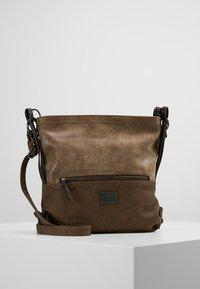 TOM TAILOR - ELIN - Across body bag - taupe - 0