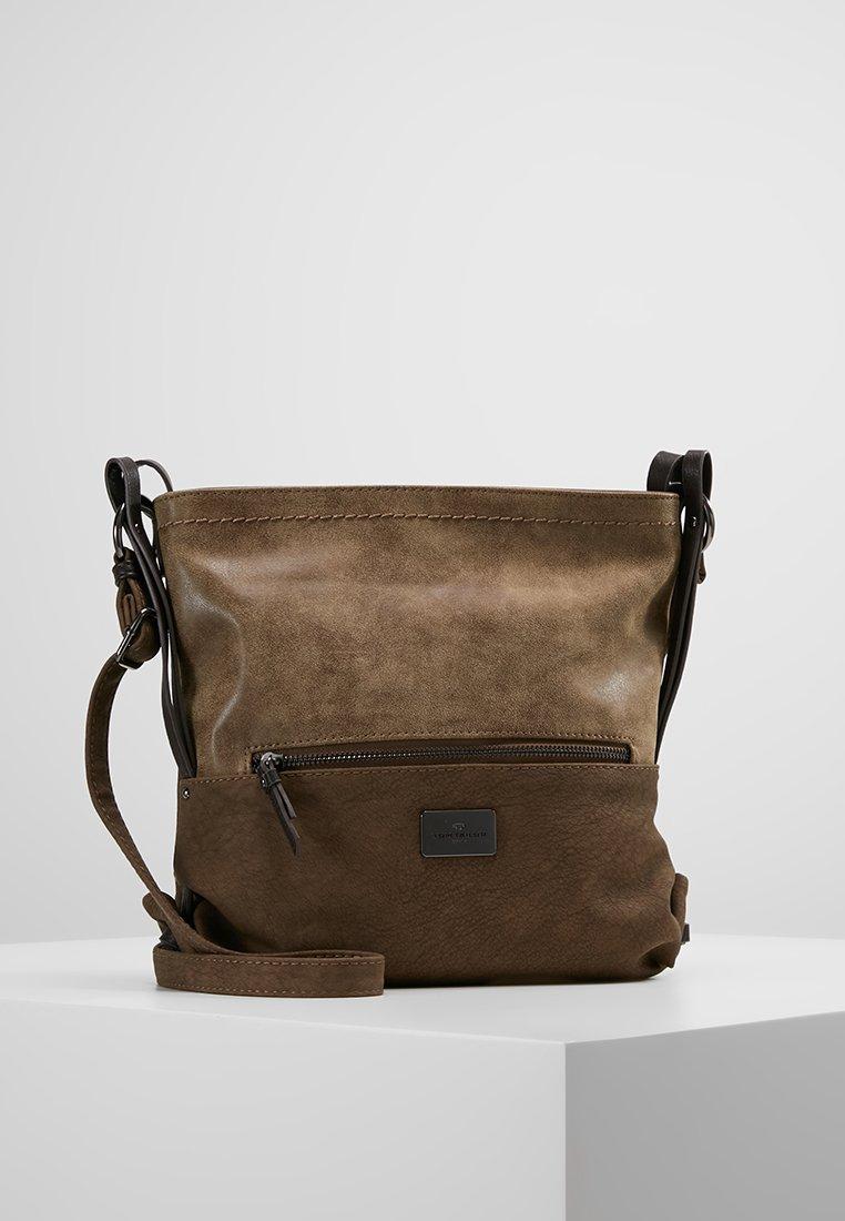 TOM TAILOR - ELIN - Across body bag - taupe