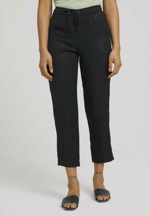 MIT TENCEL(TM) - Pantaloni sportivi - washed black