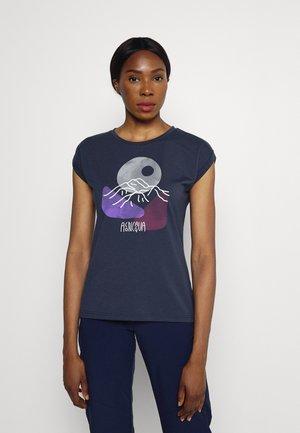 MOUNTAIN WOMEN - T-shirt con stampa - marine