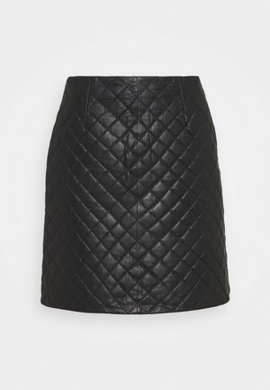 VINAMALI SKIRT - Mini skirt - black