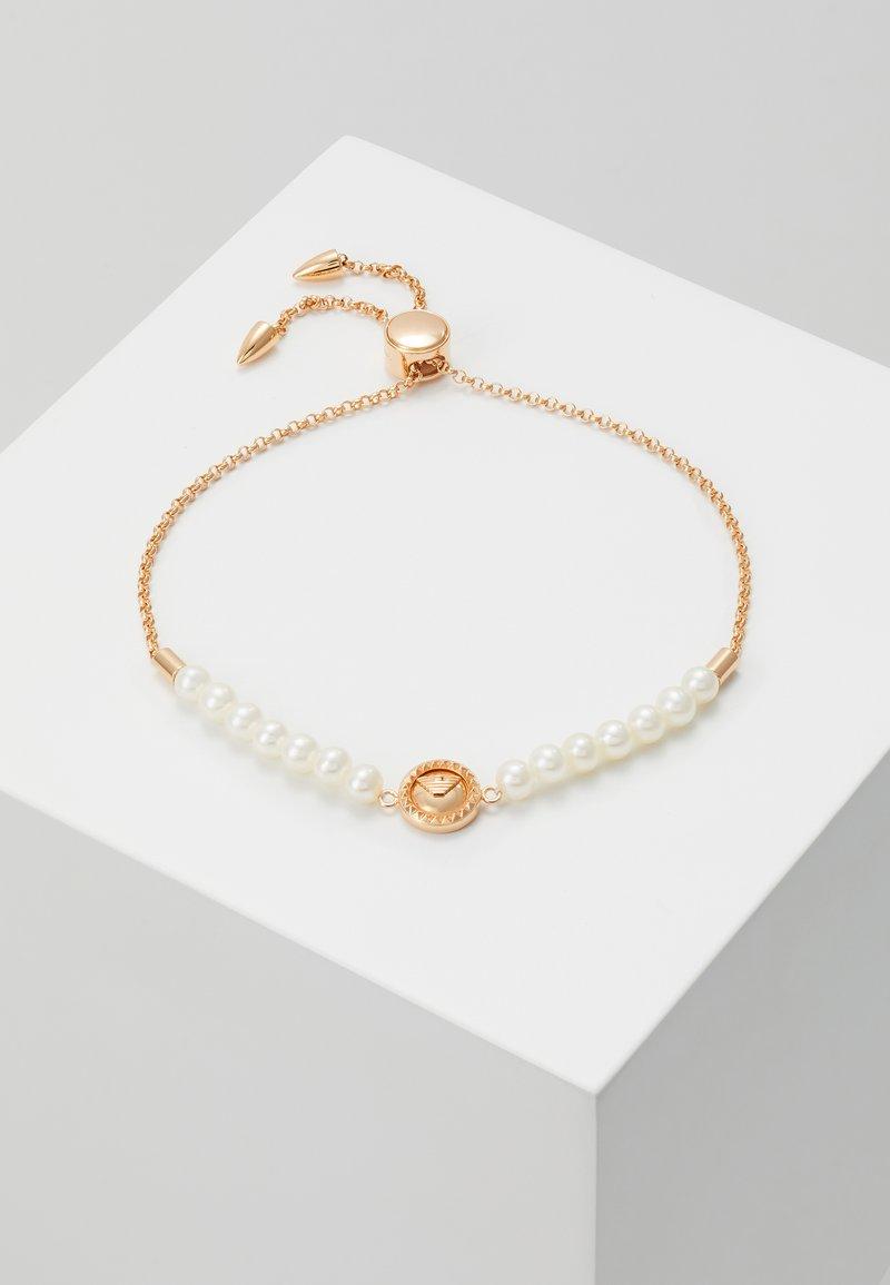 Emporio Armani - ESSENTIAL - Bransoletka - rose gold-coloured