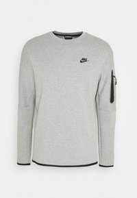 Nike Sportswear - Sweatshirt - grey heather/black - 4