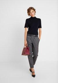 Esprit - JOGGER - Trousers - dark grey - 1