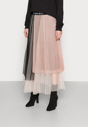 GONNA - A-line skirt - nue/nero
