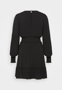 Forever New - JESSICA LONG SLEEVE SMOCK DRESS - Day dress - black - 8