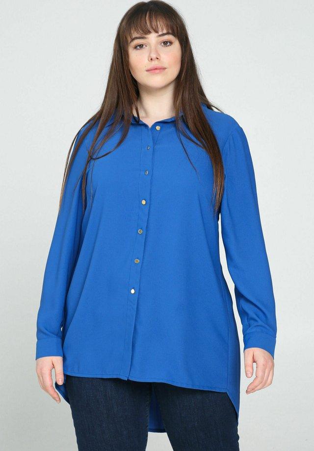 Overhemdblouse - royal blue