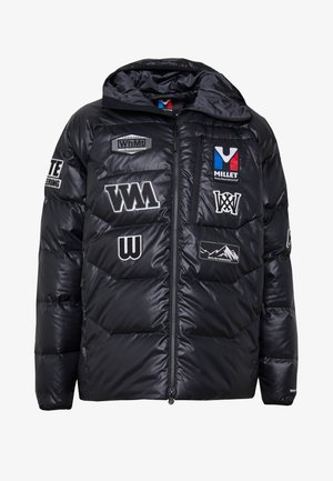 MILLET X WM JACKET - Down jacket - black