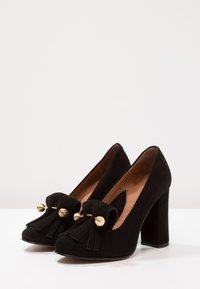 Selected Femme - SFMEL FRINGES - High Heel Pumps - black - 3