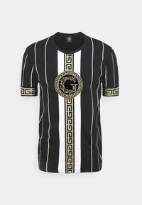 Glorious Gangsta - SANTAGO TEE - Print T-shirt - jet black - 4
