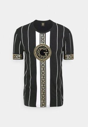 SANTAGO TEE - T-shirt med print - jet black