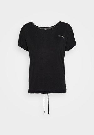 ONPADELIA TEE - Print T-shirt - black