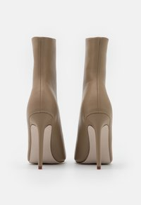 RAID - VELERY TOP UP - High heeled ankle boots - nude - 3