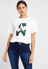 Ted Baker - LINDIAA - Print T-shirt - white - 0