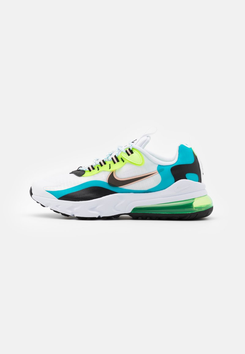 Nike Sportswear - AIR MAX 270 REACT - Trainers - oracle aqua/black/ghost green/washed coral