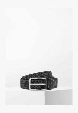 CLORIO - Braided belt - black
