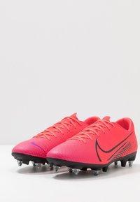 Nike Performance - VAPOR 13 ACADEMY SG-PRO AC - Screw-in stud football boots - laser crimson/black - 2