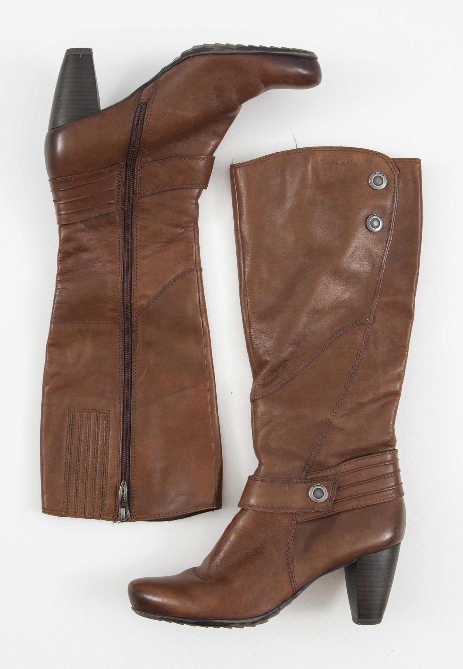 Tamaris Hoge laarzen bruin Maat 36