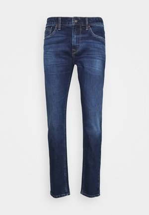 STANLEY - Jeans a sigaretta - dakr-blue denim