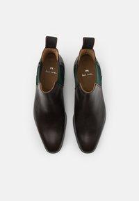 PS Paul Smith - GERALD - Kotníkové boty - chocolate - 3