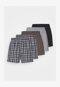 Pier One - 5 PACK - Boxershorts - grey - 4