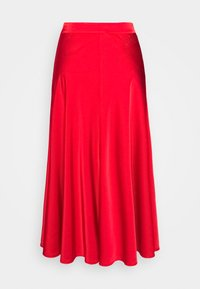 Esqualo - SKIRT SEAMS - A-line skirt - red - 1