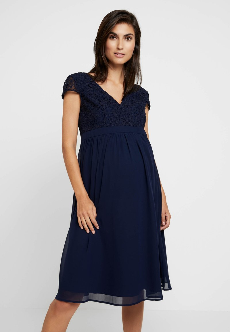 Chi Chi London Maternity - GLYNNIS DRESS - Vestito elegante - navy