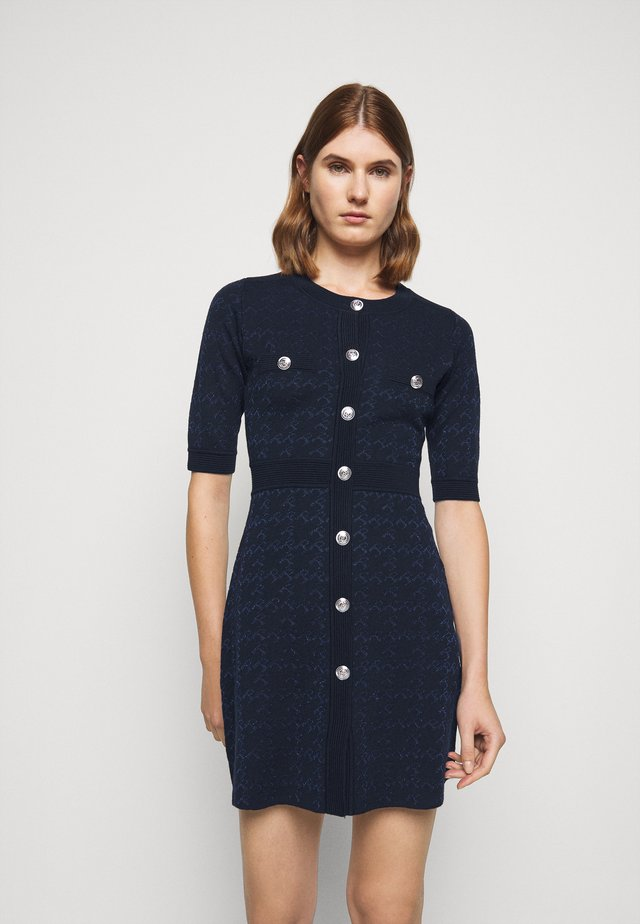 MEDAILLE - Shift dress - marine