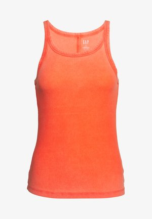 HALTER - Top - new dark orange