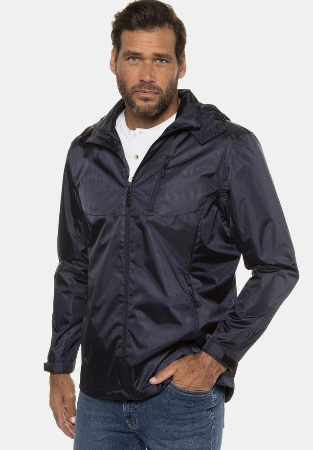 Training jacket - blue-grey