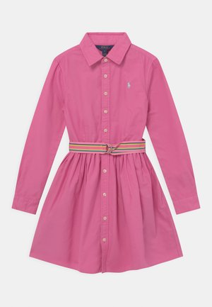 Shirt dress - resort rose