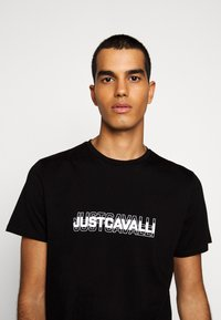 Just Cavalli - Print T-shirt - black - 3