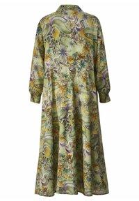 Sara Lindholm - Maxi dress - oliv,flieder - 5