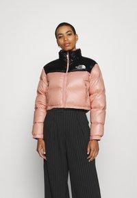 The North Face - SHORT JACKET - Down jacket - rose tan - 2