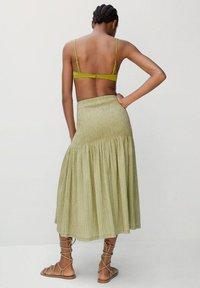 Mango - A-line skirt - vert - 2
