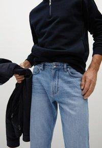 Mango - BOB - Jeans a sigaretta - hellblau - 3