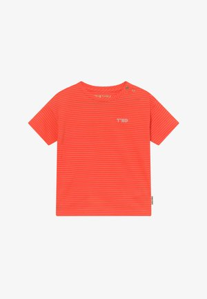 MONA - Print T-shirt - fiery coral