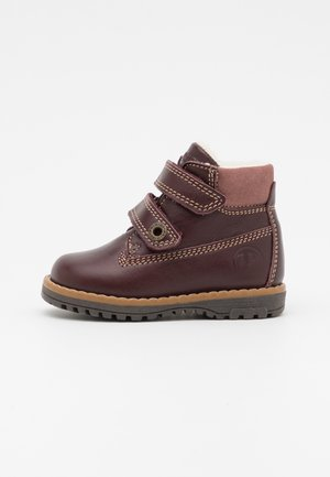 WARM LINING - Classic ankle boots - bordo'