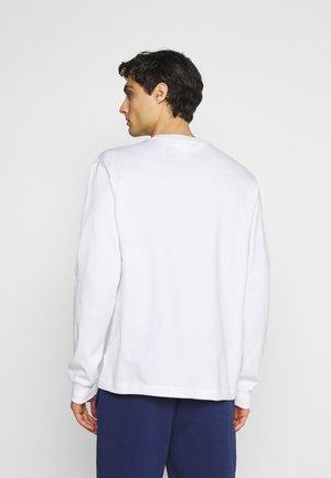 Långärmad tröja - blanc
