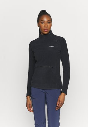 ALI PEAK ZIP - Fleece jumper - black