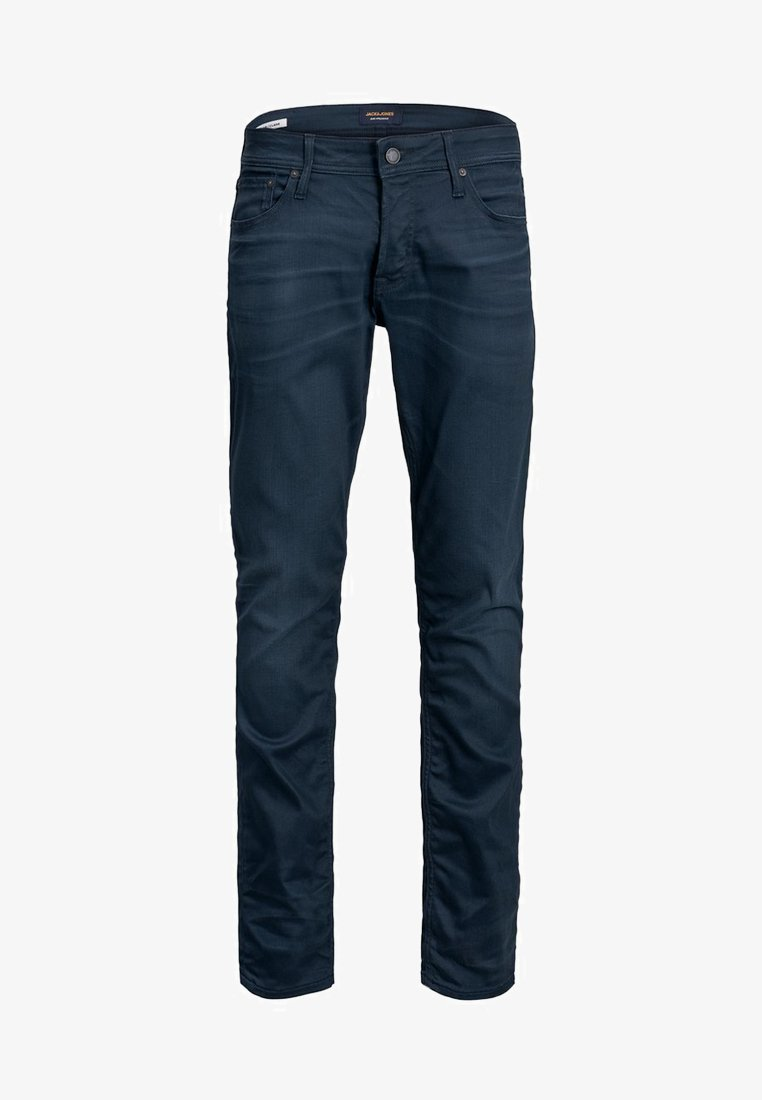 Jack & Jones - JEANS CLARK ICON - Straight leg jeans - blue denim