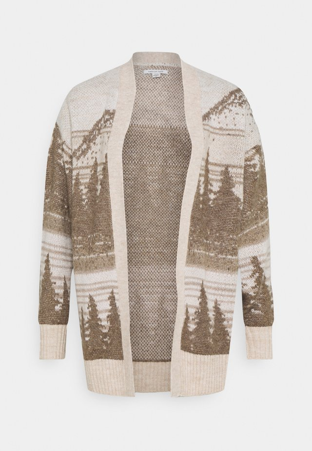 SCENIC SLOUCHY - Cardigan - oatmeal
