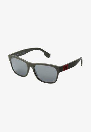 Sunglasses - matte green