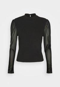 ONLLUNA LIFE MIX - Pitkähihainen paita - black