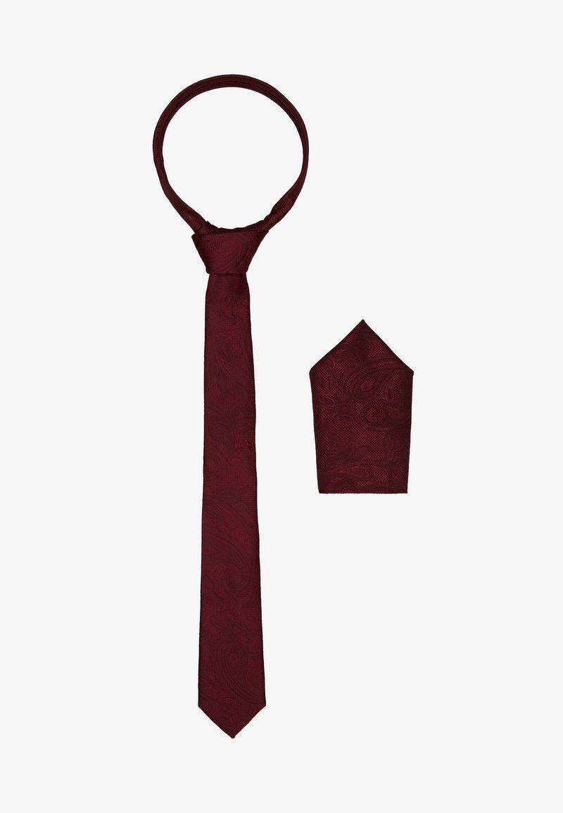 Burton Menswear London - BURG SET - Kravata - burgundy