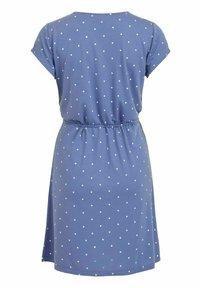 Vila - VIMOONEY STRING - Jersey dress - colony blue - 6
