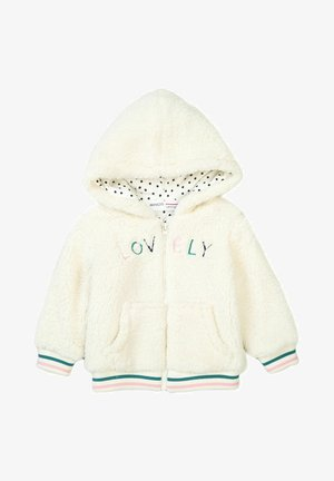 WITH POCKETS  - Fleece jacket - off white
